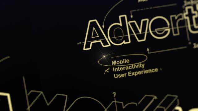 製図を広告 - ブランディング点の映像素材/bロール
