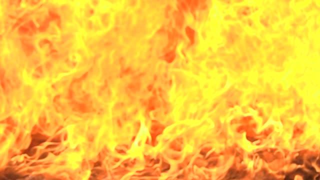 vídeos de stock e filmes b-roll de blur fire backgrounds slow motion loop able - fenómeno natural
