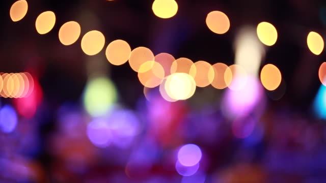 mevsimlik arka plan gece sahne parti gece kulübü - bar stok videoları ve detay görüntü çekimi