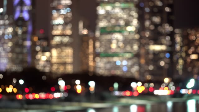 Blurred abstract background of Chicago Cityscape Office Skyline Skyscraper Building