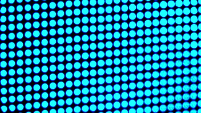 vídeos de stock e filmes b-roll de blurred bright colored led  video wall  close up video - led painel