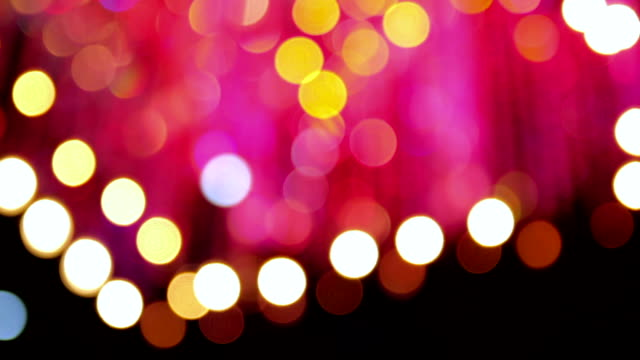 Blurred Color Party Lights video