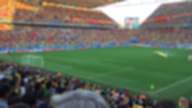 Blurred crowd video