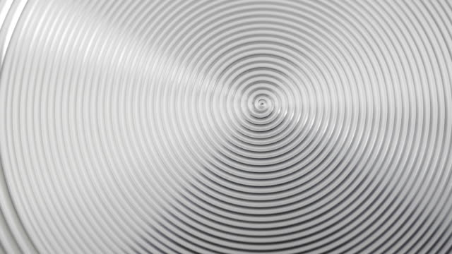Blurred metal spiral. Spiral texture on metal surface. brushed metal stock videos & royalty-free footage