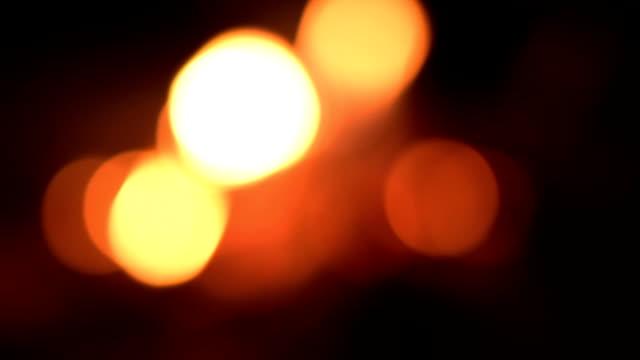 Blurred motion of bonfire. video