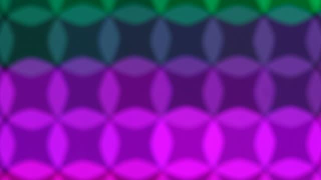 Verschwommene mehrfarbig Circle Transion Hintergrund – Video