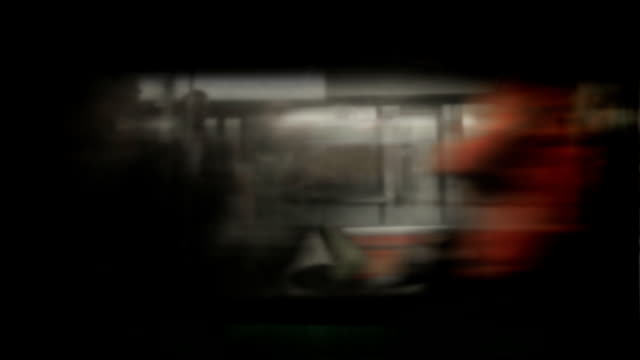 Blurry Moving Train video
