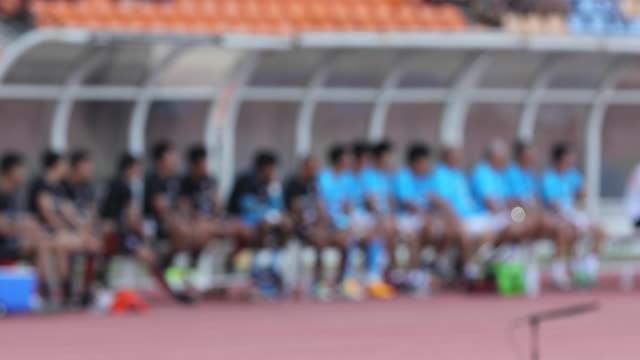 サッカー選手の ฺblurry - サッカークラブ点の映像素材/bロール