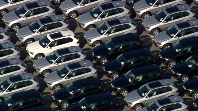 bmw plant - Aerial View - South Carolina,  Greenville County,  United States video