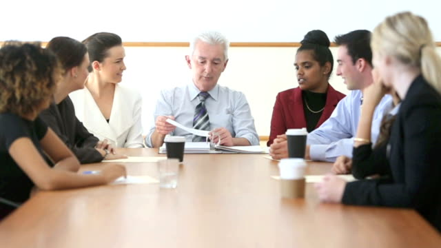 Boardroom Business Meeting video
