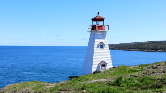 Boar's Head Lighthouse in Nova Scotia, Canada