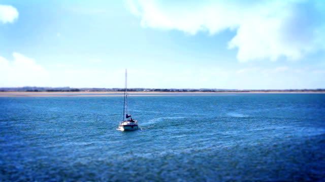 Boat and Beautiful Sea, Tile Shift, Howth, Dublin Bay, Ireland video