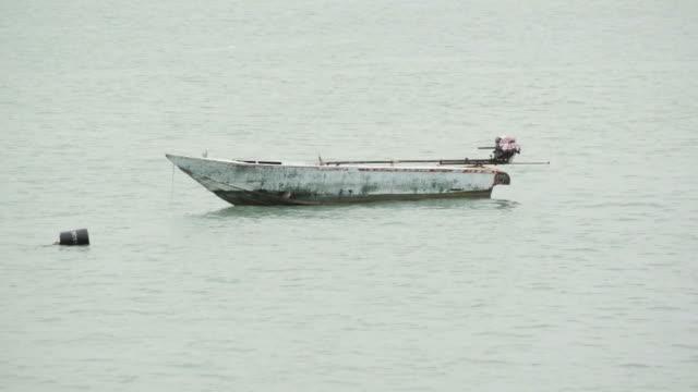 boat at the marina video
