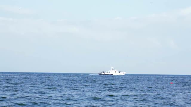 Boat border guards video