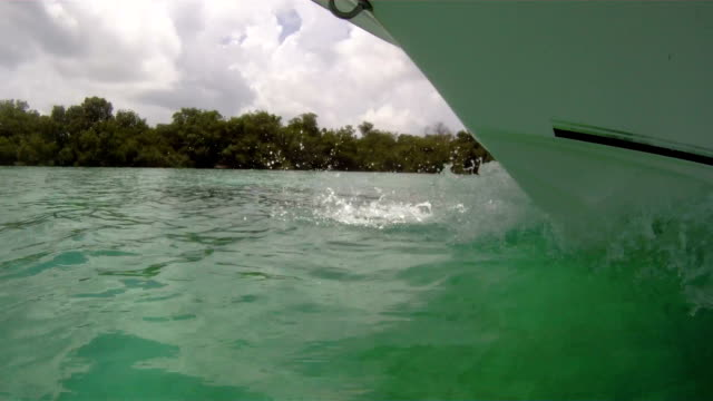 Boat Bow Close Up video
