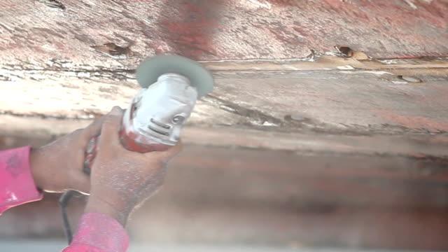 Boat Hull repairs video