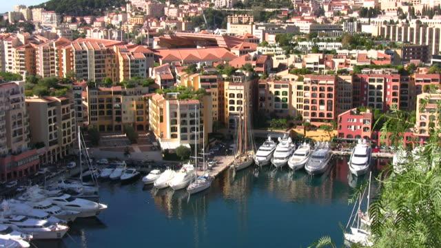 Boat marina in Monte Carlo video