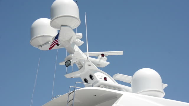 Boat navigational equipment video