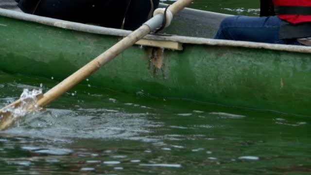 Boat Paddle on Lake video
