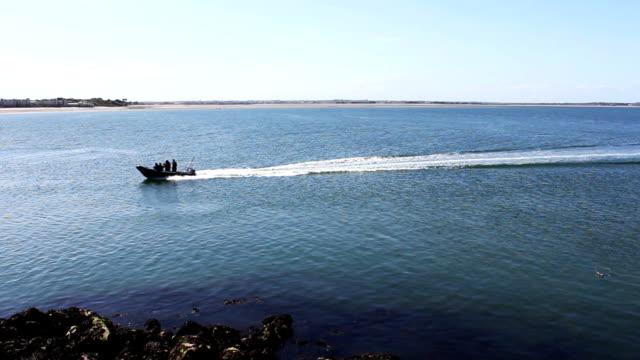 Boat Sea, Howth, Dublin Bay, Ireland video