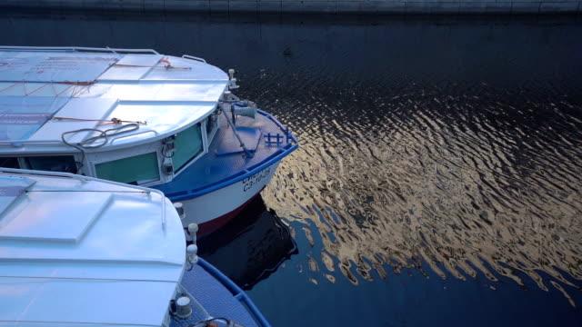 boat trip in st. petersburg, russia video