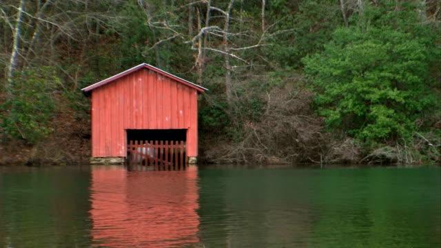 boathouse on the lake HD