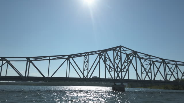 Boating on Table Rock Lake in the Ozarks Missouri Kimberling City Bridge USA Boating POV 4K Video