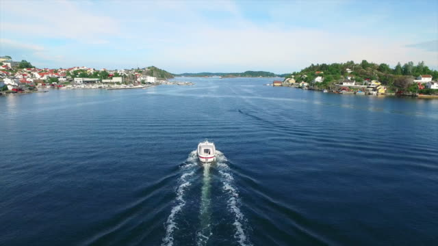 Boating on the Kragero coast video