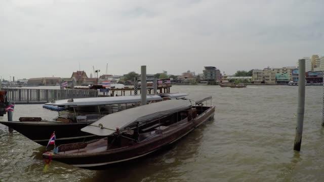 泰國曼谷的湄南河遊船巡航 - 東南 個影片檔及 b 捲影像