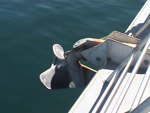 Boat's turbine video