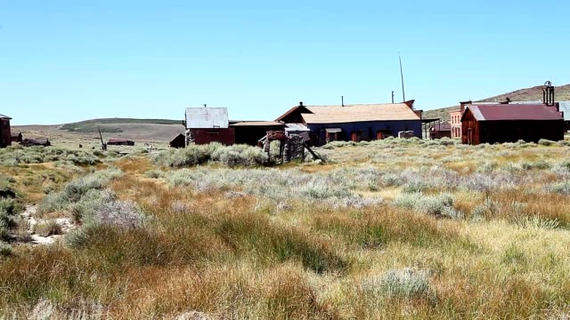 Bodie Ghost Town 1800s cityscape