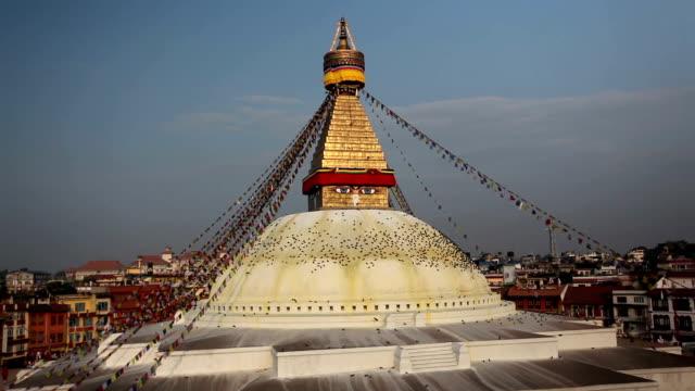 Bodnath Stupa Kathmandu Valley Nepal video