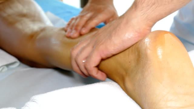 body massage treatment - china drug video stock e b–roll