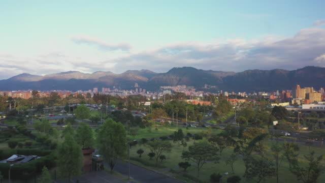 Bogota city traffic
