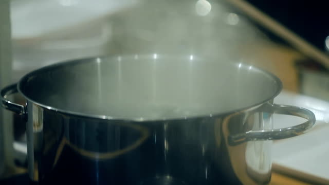 Boiling Pot of Water video