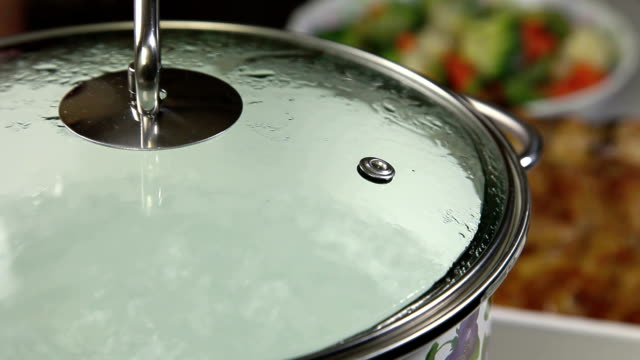 Boiling Water In A Pan video