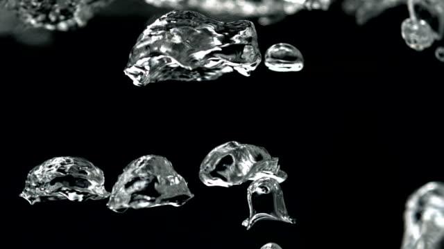 Boiling water in kettle, Slow Motion video
