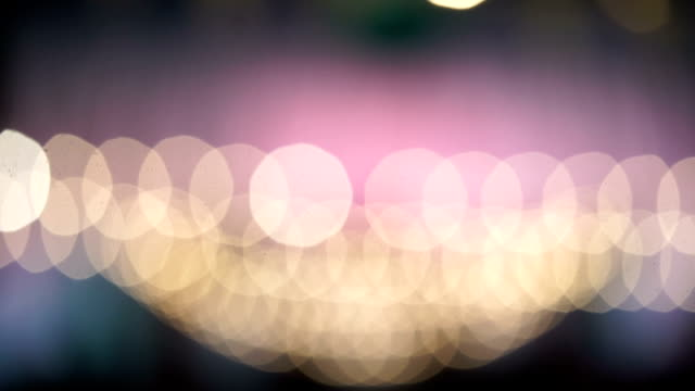 HD: bokeh abstract light background video