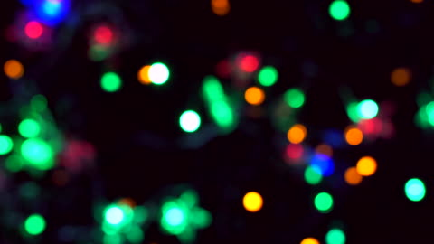 Bokeh Christmas lights flashing is colourful. Bokeh Christmas lights flashing is colourful. christmas lights stock videos & royalty-free footage