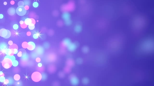 bokeh circles loopable abstract background video