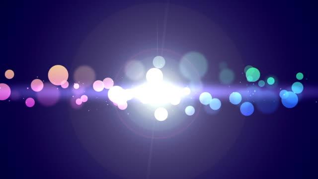 Bokeh glitters video