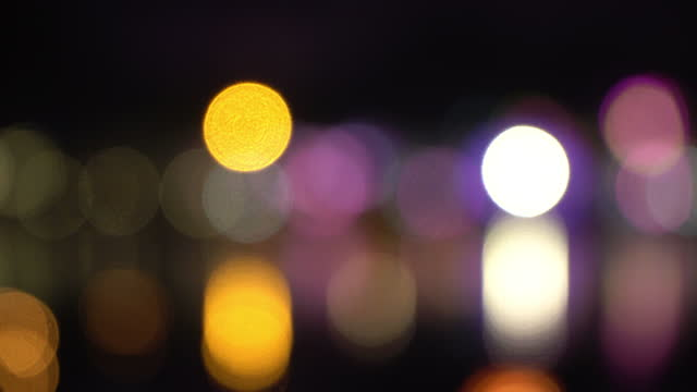 bokeh light - bokeh stock videos & royalty-free footage