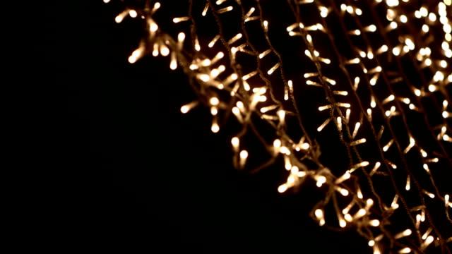 Bokeh Of Christmas Lights Video