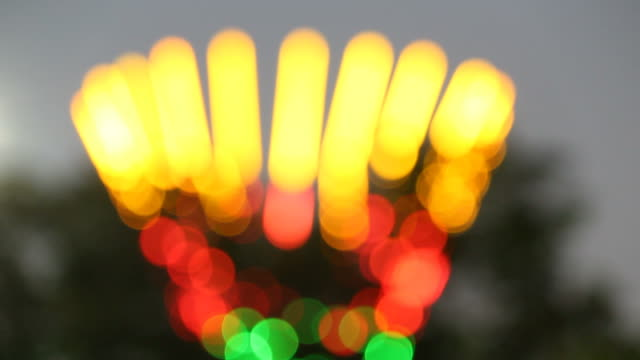 Bokeh of light Bokeh of light saturated color stock videos & royalty-free footage