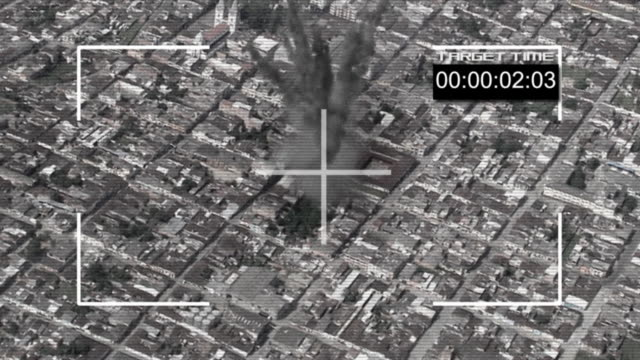 bomb hit the ground HD720 video