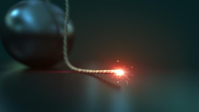 vídeos de stock e filmes b-roll de hd: bomba de - bomba