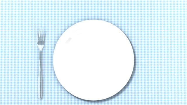 vídeos y material grabado en eventos de stock de ¡bon appetit! alta definición - cuchillo cubertería