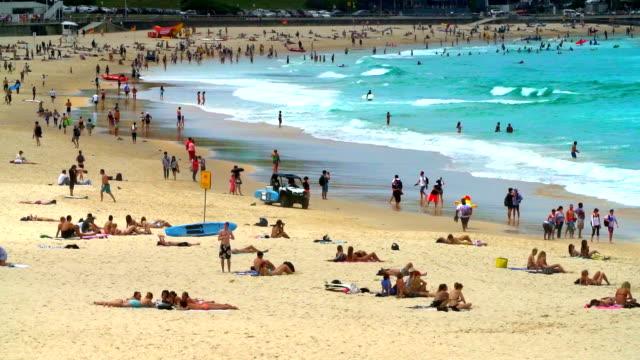 Bondi Beach, Sydney Australia video