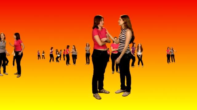 Bonding - young women video