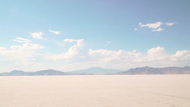 Bonneville Salt Flats - vídeo